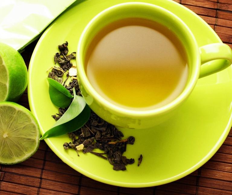 11285-green-tea-drink-materials