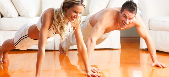 home-workout-couple