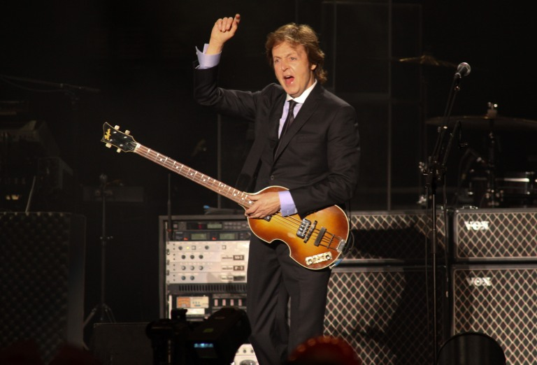 Paul McCartney Rio 2011