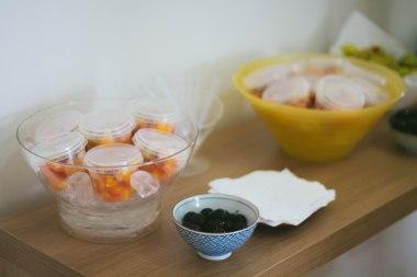 Saladinha de frutas sem açúcar e jabuticabas