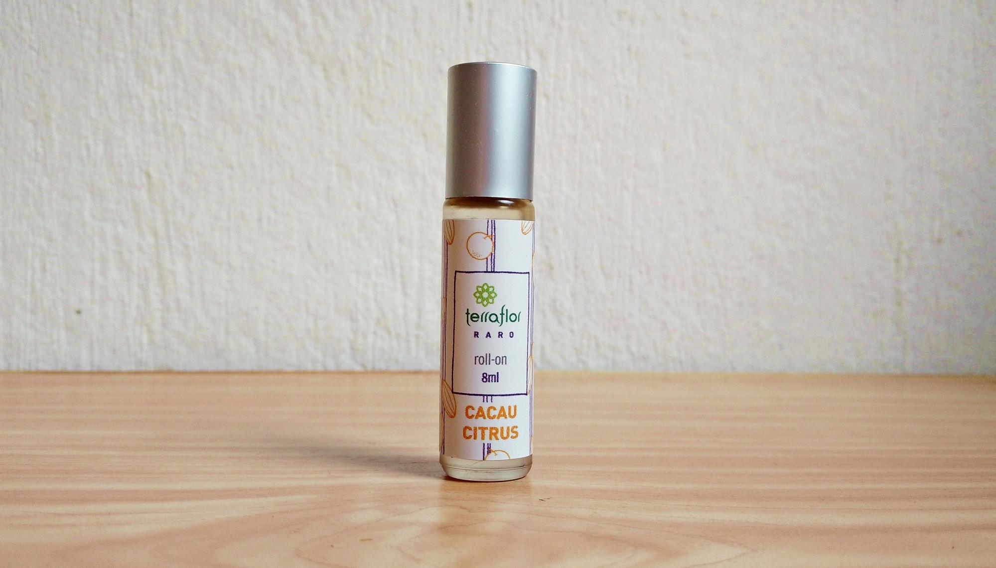 Perfume Roll-On Terra Flor Cacau Citrus