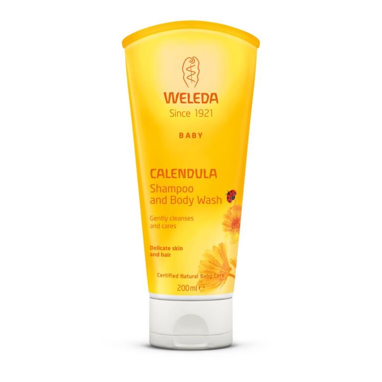 Calêndula Baby Shampoo & Body Wash